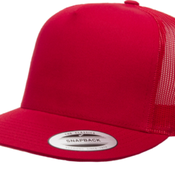 YUPOONG CLASSIC TRUCKER MODEL # 6006 - RED