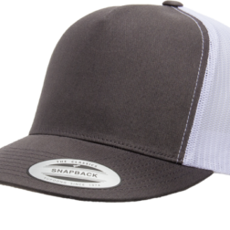 YUPOONG CLASSIC TRUCKER MODEL #  6006T - CHARCOAL WHITE
