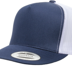 YUPOONG CLASSIC TRUCKER MODEL #  6006T - NAVY WHITE