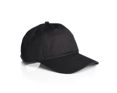 1111_DAVIE_SIX_PANEL_CAP_BLACK