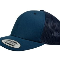 YUPOONG CLASSIC RETRO TRUCKER MODEL # 6606 - NAVY