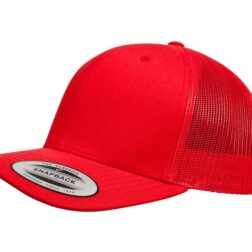 YUPOONG CLASSIC RETRO TRUCKER MODEL # 6606 - RED