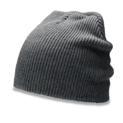RICHARDSON 147 SLOUCH KNIT BEANIE - BLACK