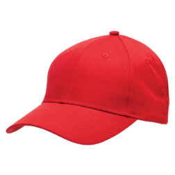 Poly Viscose Cap - Red