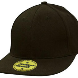 Newport Premium American Twill with Snap Back Pro Styling - Black