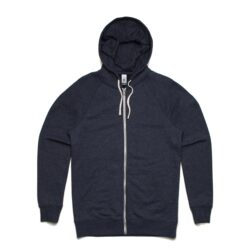 MENS TRACTION ZIP HOOD - NAVY MARLE