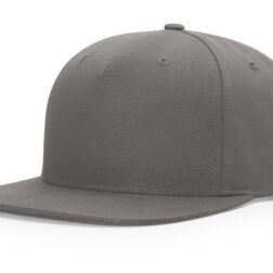 955 PINCH FRONT STRUCTURED SNAPBACK - Flint Grey
