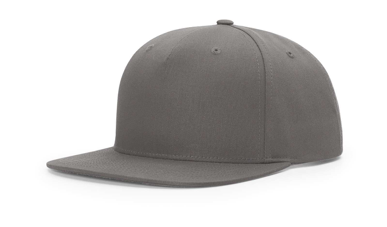 88f4fc1ed71 955 PINCH FRONT STRUCTURED SNAPBACK - Flint Grey - Nublank Caps
